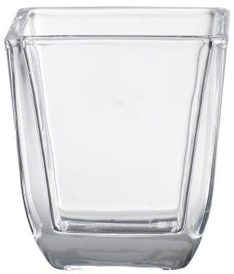 Świecznik do wkładek kwadratowy 65/58 mm 6 szt. w opak.