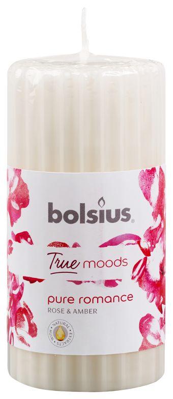 Świeca pieńkowa zapachowa 120/58 True Moods Pure Romance 6 szt. w op.