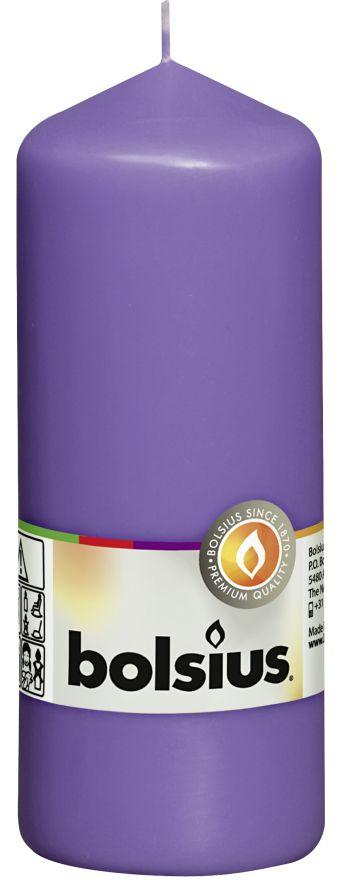 Świeca pieńkowa 150/58 mm fioletowa 10 szt. w opak.