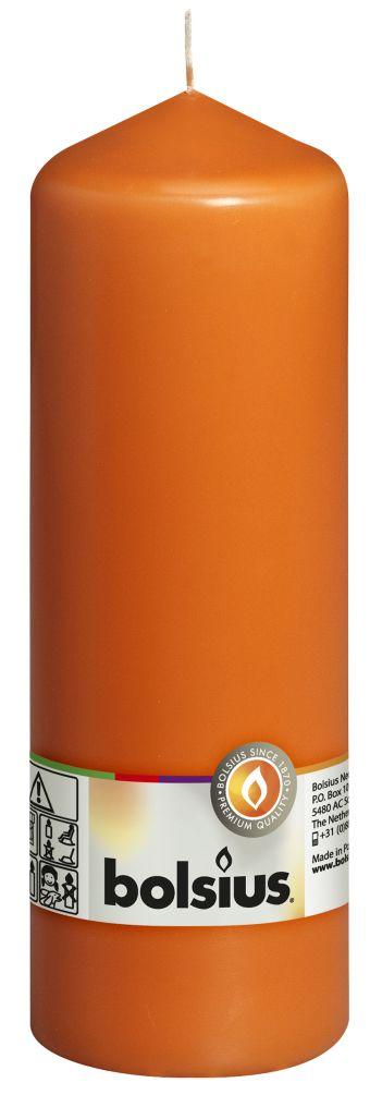 Świeca pieńkowa 200/68 mm mango 8 szt. w opak.