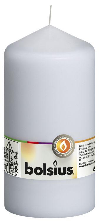 Świeca pieńkowa 150/78 mm biała 8 szt. w opak.