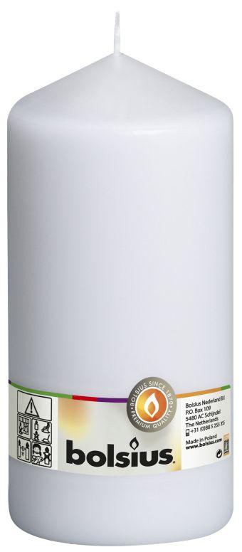 Świeca pieńkowa 200/98 mm biała 8 szt. w opak.