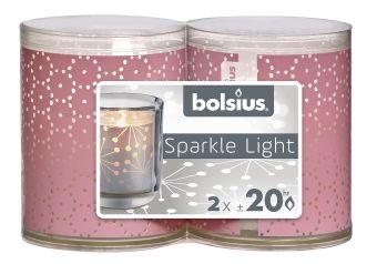 Świece Wkłady Sparkle Light 64/52 koronka 16 szt. w opk.