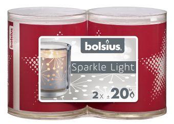 Świece wkłady Sparkle Light 64/52 gwiazda 16 szt. w opak.
