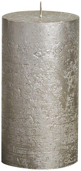 Świeca Pieńkowa Rustic Metal 130/68 mm szampańska 6 szt. w opak.