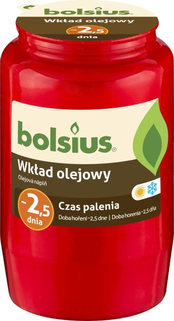 Wkład olejowy czerwony nr 3 20 szt. w opak.