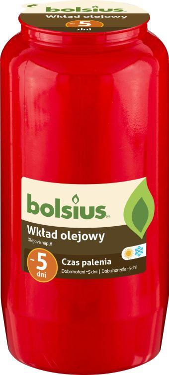 Wkład olejowy czerwony nr 7 24 szt. w opak.