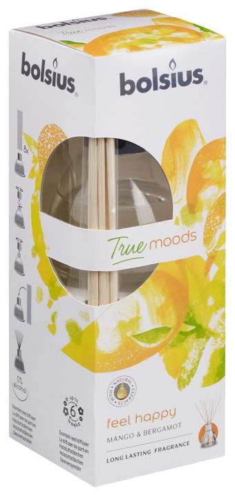 Dyfuzor zapachowy 45ml True Moods Feel Happy 6 szt. w op.