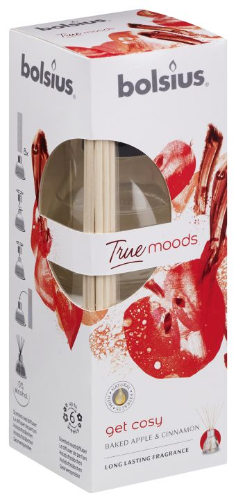 Dyfuzor zapachowy 45ml True Moods Get Cosy 6 szt. w op.