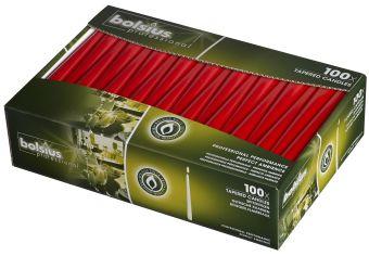 Świeca szpica 240/23 mm czerwona </br> 200 szt. w op.