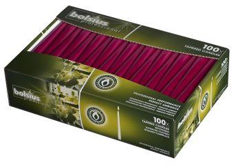 Świeca szpica 240/23 mm bordowa </br> 200 szt. w op.