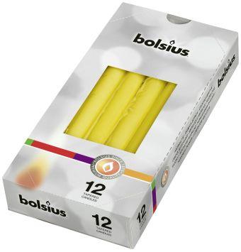 Świeca szpica 245/24 mm żółta </br> pojedynczo pakowana 48 szt. w opak.