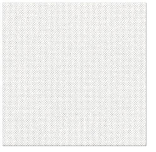 Serwetki Punta Punta, składane na 1/4, 38 cm x 38 cm, Białe, 400 szt. w op.