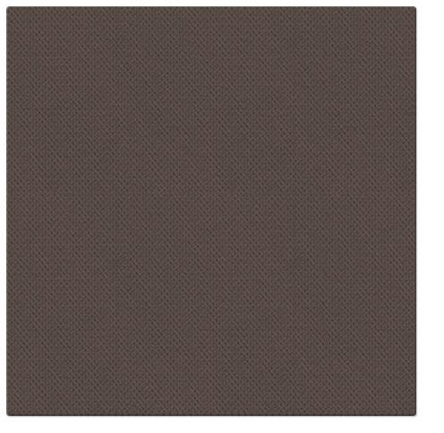 Serwetki Punta Punta, składane na 1/4, 38 cm x 38 cm, Brązowe, 400 szt. w op.