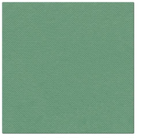 Serwetki Punta Punta, składane na 1/4, 38 cm x 38 cm, Ciemno Zielone, 400 szt. w op.