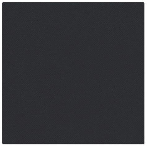 Serwetki Airlaid Paw, składane na 1/4, 40 cm x 40 cm, Czarne, 800 szt. w op.