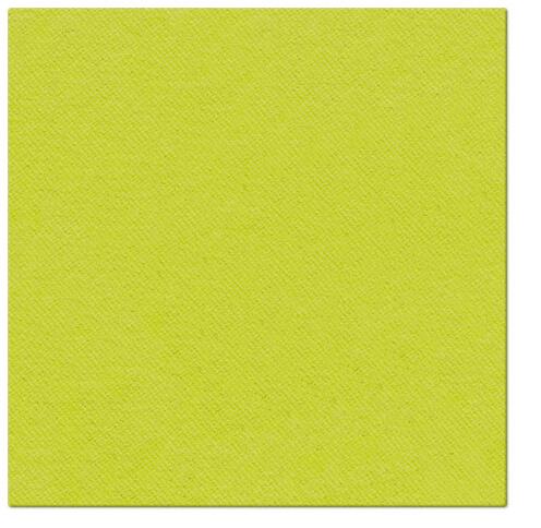 Serwetki Airlaid Paw, składane na 1/4, 40 cm x 40 cm, Limonkowe, 800 szt. w op.