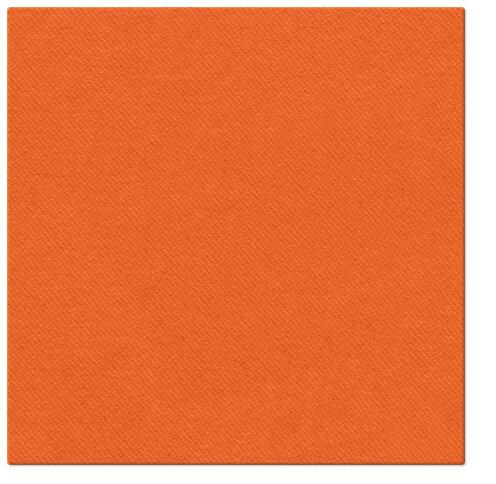 Serwetki Airlaid Paw, składane na 1/4, 40 cm x 40 cm, Pomarańczowe, 800 szt. w op.