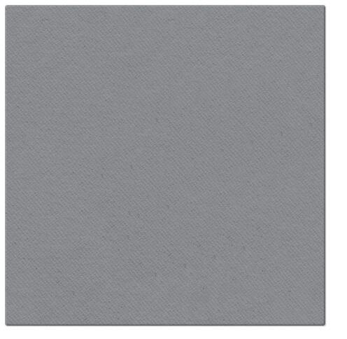 Serwetki Airlaid Paw, składane na 1/4, 40 cm x 40 cm, Szare, 800 szt. w op.