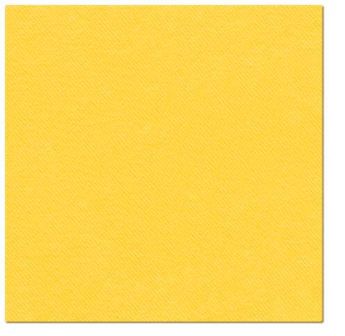Serwetki Airlaid Paw, składane na 1/4, 40 cm x 40 cm, Żółte, 800 szt. w op.