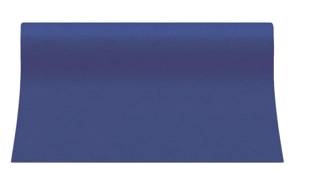 Bieżniki Airlaid Paw 40 cm x 24 m, Ciemno Niebieskie, 12 rolek w op.