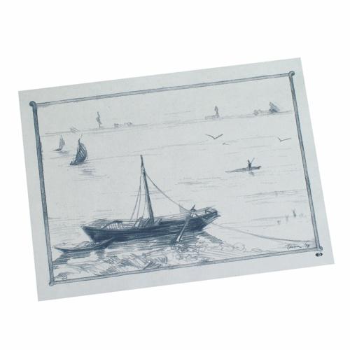 """Podkładki na stół z papieru 30 cm x 40 cm, Białe """"Ruderboot"""", 1000 szt. w op."""