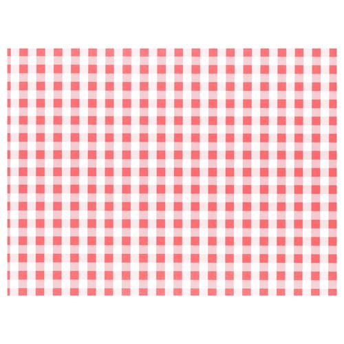 """Podkładki na stół z papieru 30 cm x 40 cm, Czerwone """"Vichy Karo"""", 1000 szt. w op."""