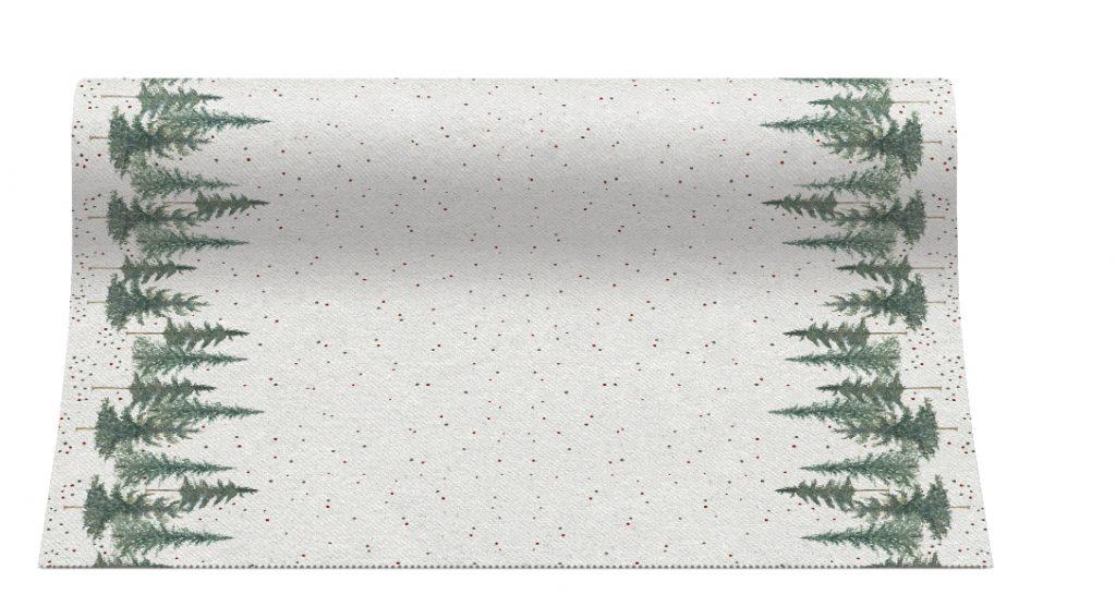 Bieżniki Airlaid Paw, 40 cm x 24 m, CONIFER FOREST, 4 rolki w op.