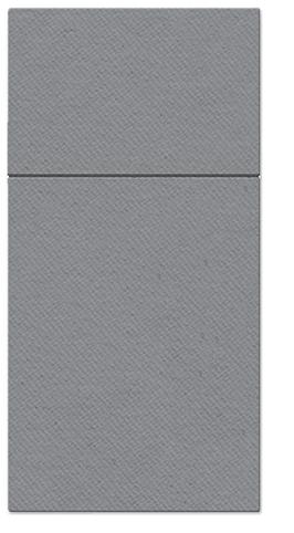 Kieszonki na Sztućce Airlaid Paw, składane na 1/8, 40 cm x 40 cm, Szare, 400 szt. w op.