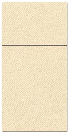Kieszonki na Sztućce Airlaid Paw, składane na 1/8, 40 cm x 40 cm, Kremowe, 400 szt. w op.
