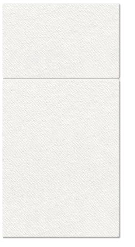 Kieszonki na Sztućce Airlaid, składane na 1/8, 40 cm x 40 cm, Białe, 1000 szt. w op.