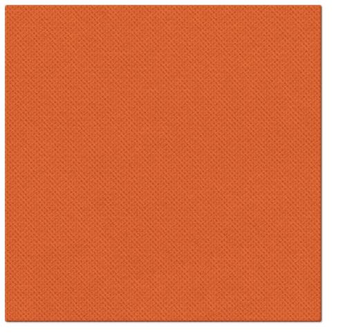 Serwetki Punta Punta, składane na 1/4, 38 cm x 38 cm, Pomarańczowe, 400 szt. w op.