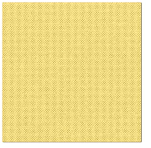 Serwetki Punta Punta, składane na 1/4, 38 cm x 38 cm, Żółte, 400 szt. w op.