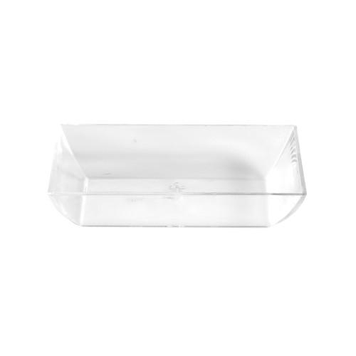 """""""Fingerfood"""" - pojemniki na przekąski, PS, kształt prostokątny, 1,6 cm x 7,9 cm x 5,5 cm, krystaliczne, 1400 szt. w op."""