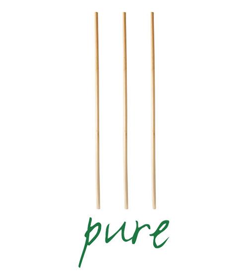 """Słomki wykonane ze słomy, """"pure"""", średnica 4 mm, 20 cm, 1000 szt. w op."""