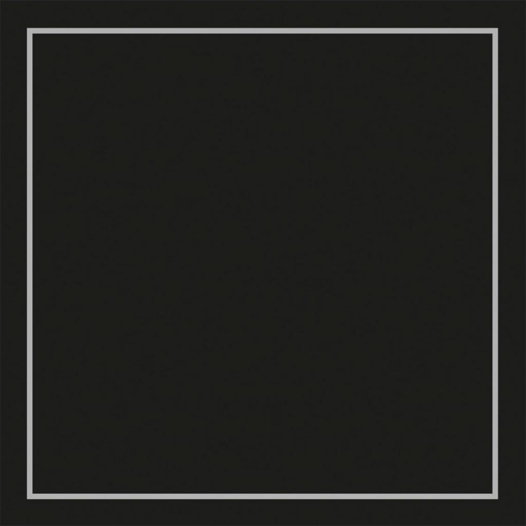 Podkładki kwadratowe, 95 mm x 95 mm, 9-warstwowe, Czarne, 1000 szt. w op.