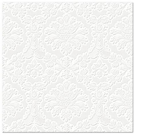 Serwetki Tissue 3-warstwowe, 33 x 33, Decor INSPIRATION CLASSIC perłowe, składane na 1/4, 240 szt. w op.