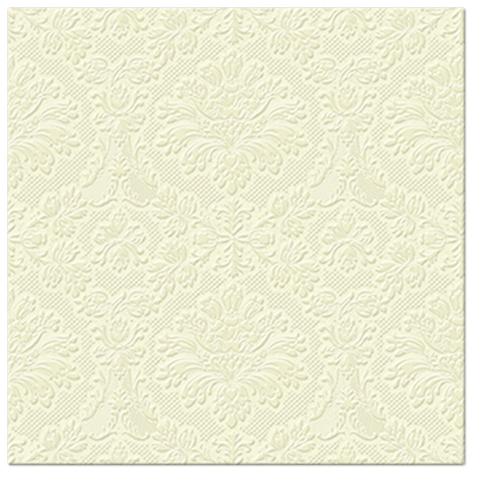 Serwetki Tissue 3-warstwowe, 33 x 33, Decor INSPIRATION CLASSIC kremowe, składane na 1/4, 240 szt. w op.