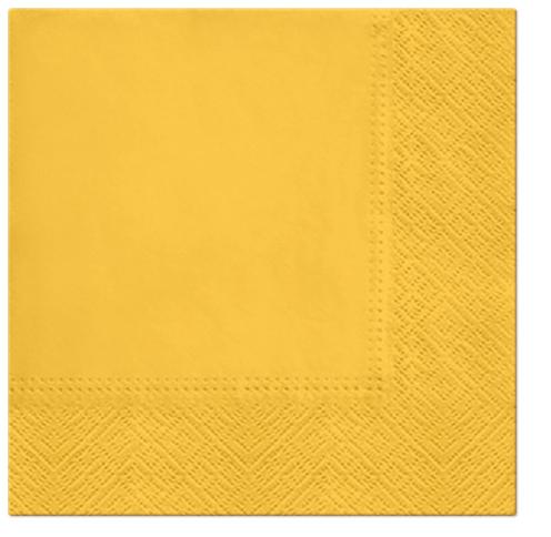 Serwetki Tissue 3-warstwowe, 33 x 33, Grapefruit, składane na 1/4, 240 szt. w op.