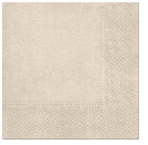 Serwetki Tissue 3-warstwowe, 33 x 33, WE CARE Kraft, składane na 1/4, 240 szt. w op.